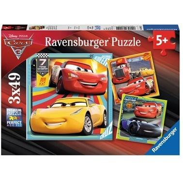 Ravensburger Ravensburger Walt Disney Cars3  Parça Puzzle Renkli